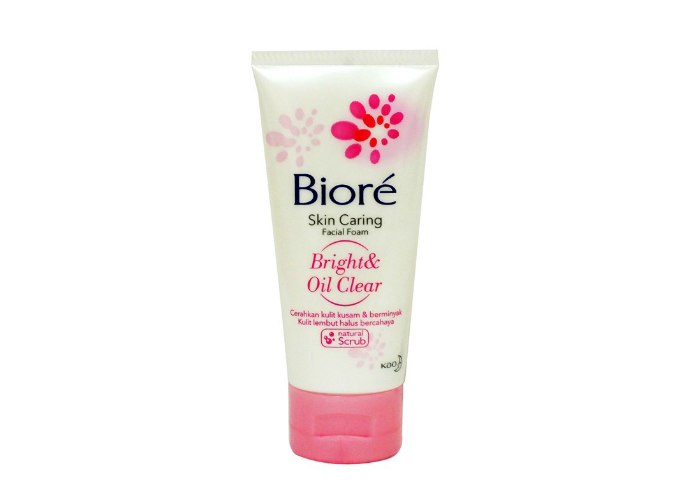 Biore Skin Caring Facial Foam Bright & Oil Clear