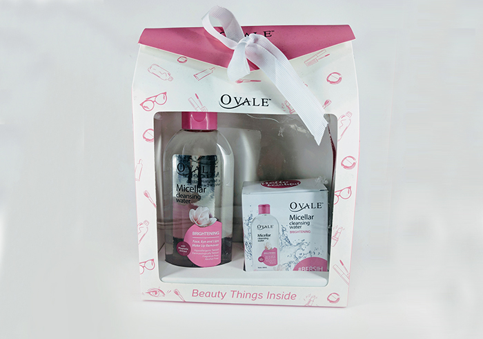review gratis Ovale Micellar Cleansing Water