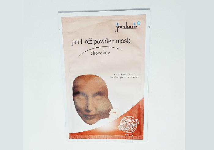 review gratis Jordanie peel-off powder mask
