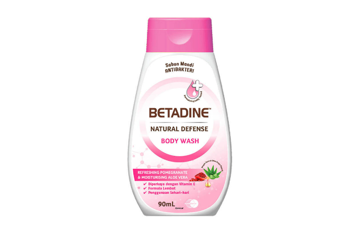 gambar Betadine Natural Defense Body Wash gratis