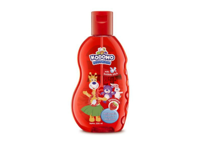review image Kodomo Shampoo Gel Strawberry