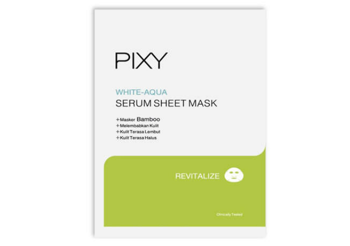review gratis tester PIXY White - Aqua Serum Sheet Mask gratis