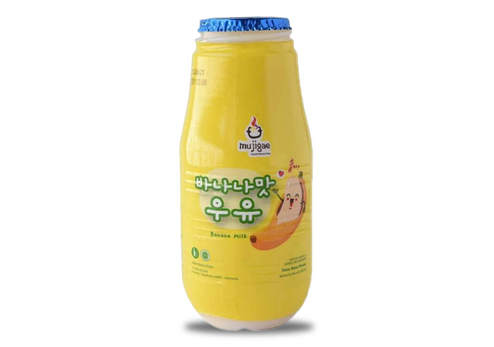 review image Mujigae Banana Milk Original