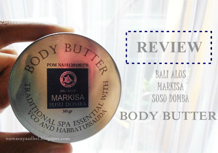 image review Bali Alus Body Butter Markisa Susu Domba
