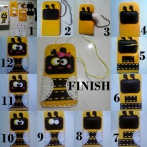 gambar review ke-3 untuk Sew-Star Sew Your Own Mobile Bag