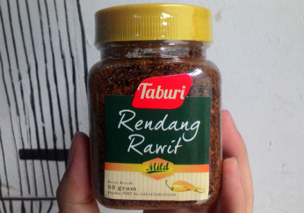 image review Taburi Rendang Rawit