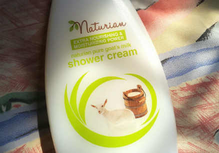 image review Naturian Pure Goat's Milk Shower Cream