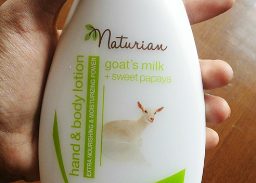 image review Naturian Goat's Milk + Sweet Papaya Hand & Body Lotion