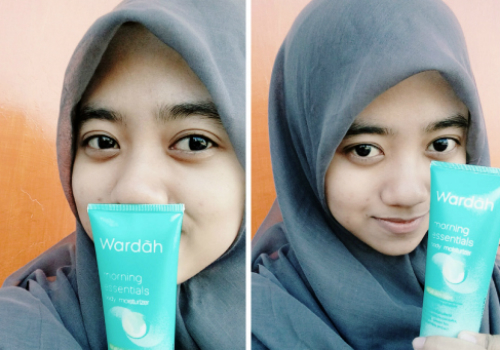 image review Wardah Morning Essentials Body Moisturizer