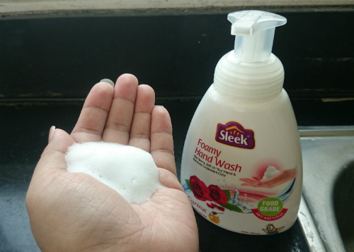 image review Sleek Foamy Hand Wash Caring