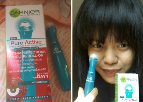 image review Garnier Pure Active Cooling Roll On