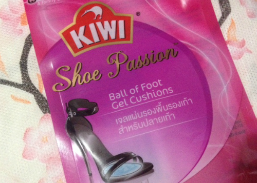 image review Kiwi Shoe Passion Gel Cushion