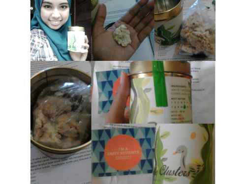 gambar review ke-2 untuk Cluster Couple & Co. Milky White Clusters