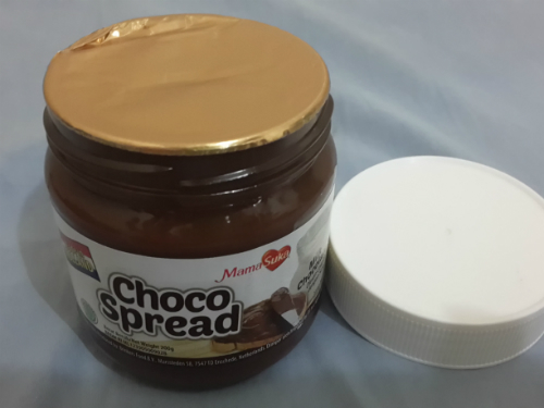 image review MamaSuka Choco Spread Milk Chocolate