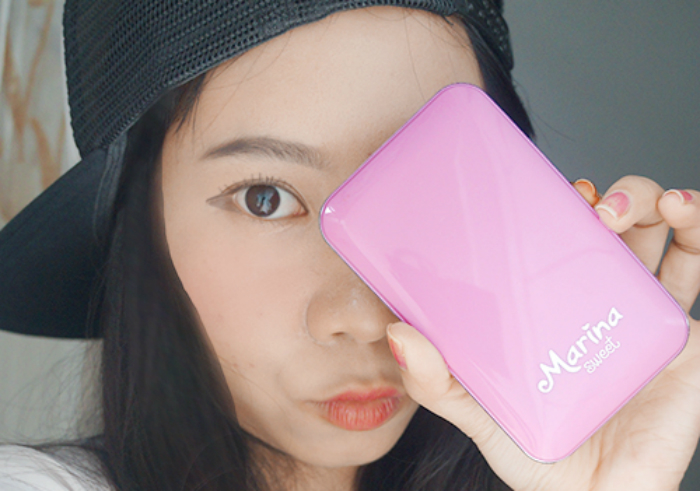 gambar review ke-1 untuk Marina Sweet UV Protection Two Way Cake