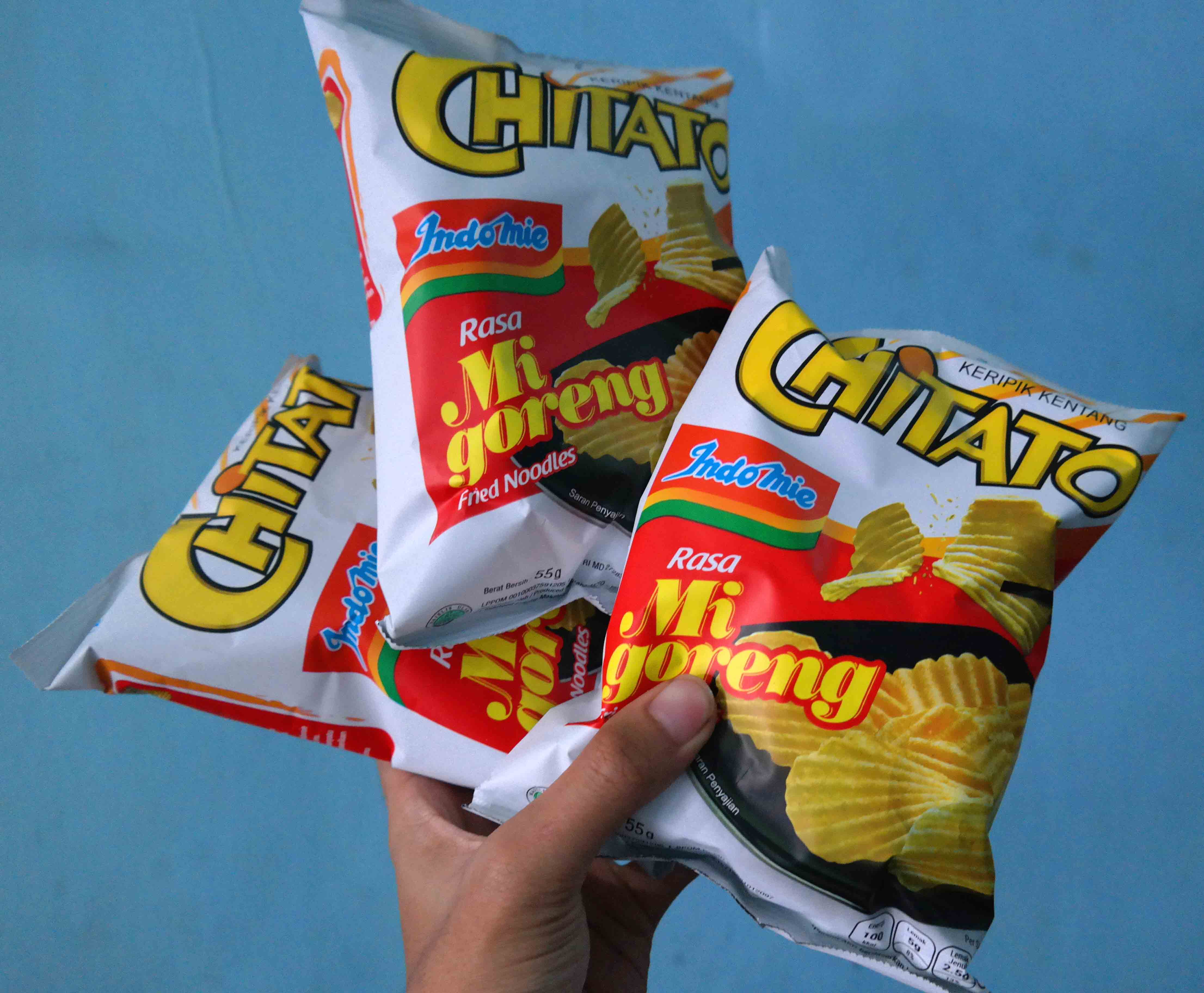 image review Chitato Indomie Goreng