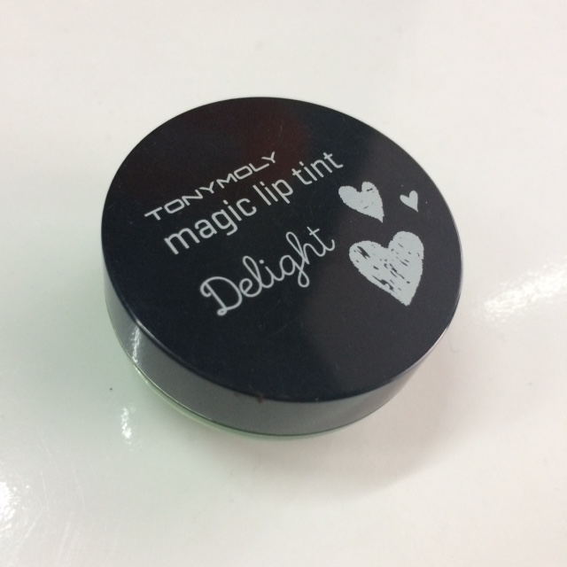 image review Tony Moly Delight Magic Lip Tint Green Apple