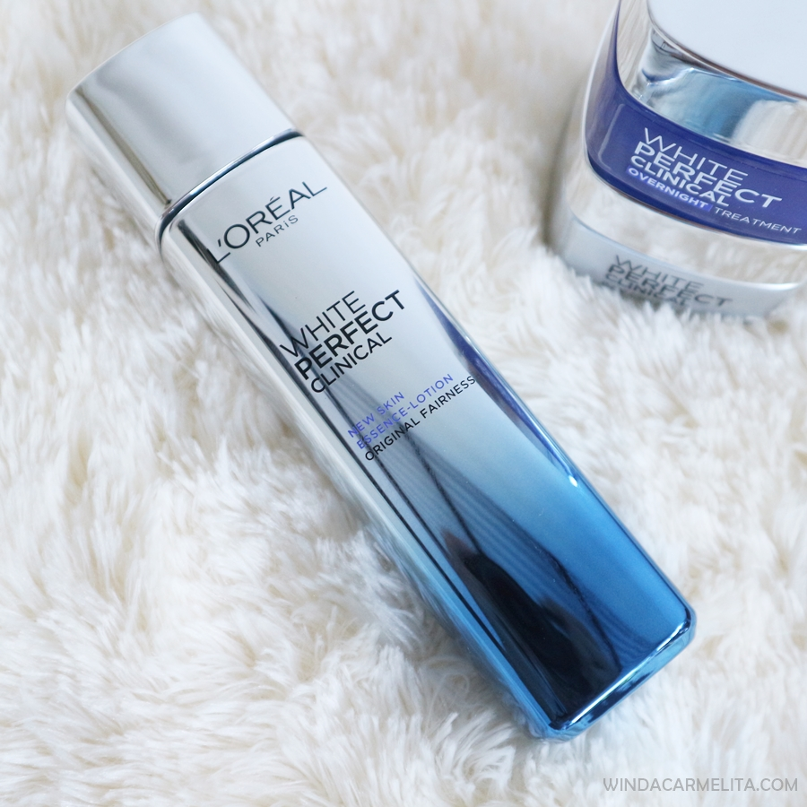 image review L'oreal Paris White Perfect Clinical Essence Lotion