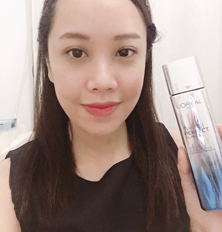 gambar review ke-6 untuk L'oreal Paris White Perfect Clinical Essence Lotion