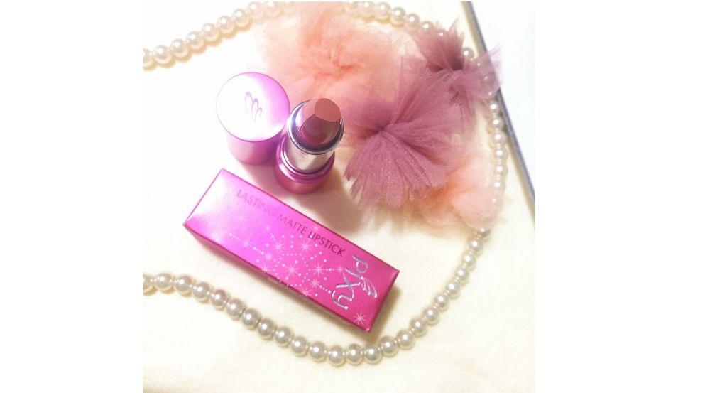 gambar review ke-1 untuk Pixy Lasting Matte Lipstick Earthy Beige