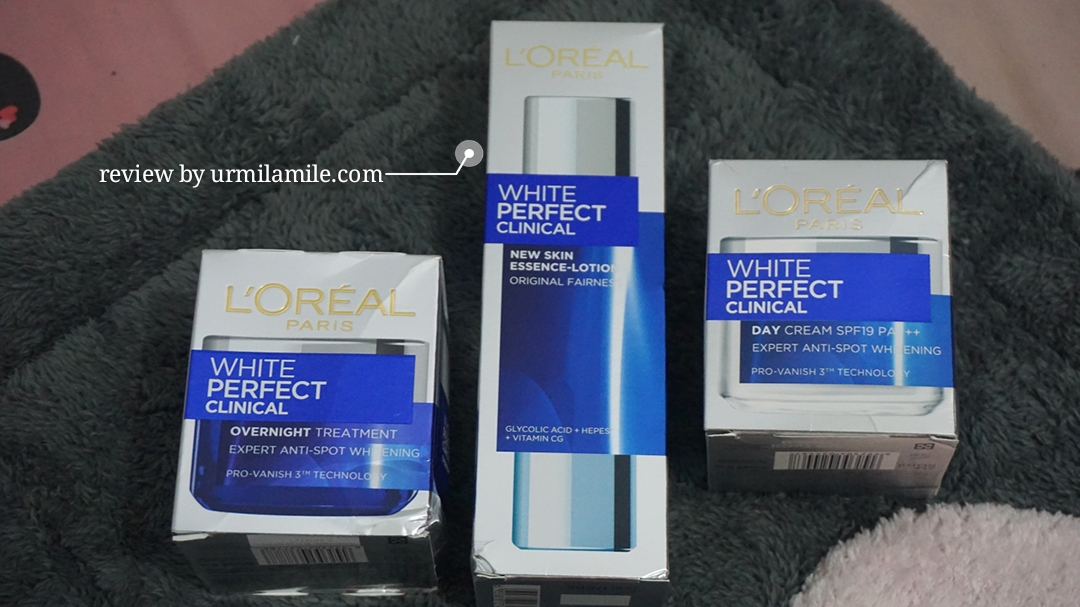 gambar review ke-1 untuk L'oreal Paris White Perfect Clinical Essence Lotion