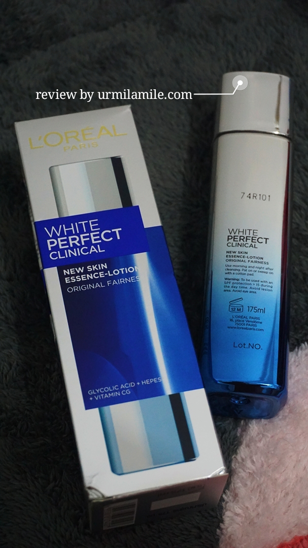 gambar review ke-5 untuk L'oreal Paris White Perfect Clinical Essence Lotion