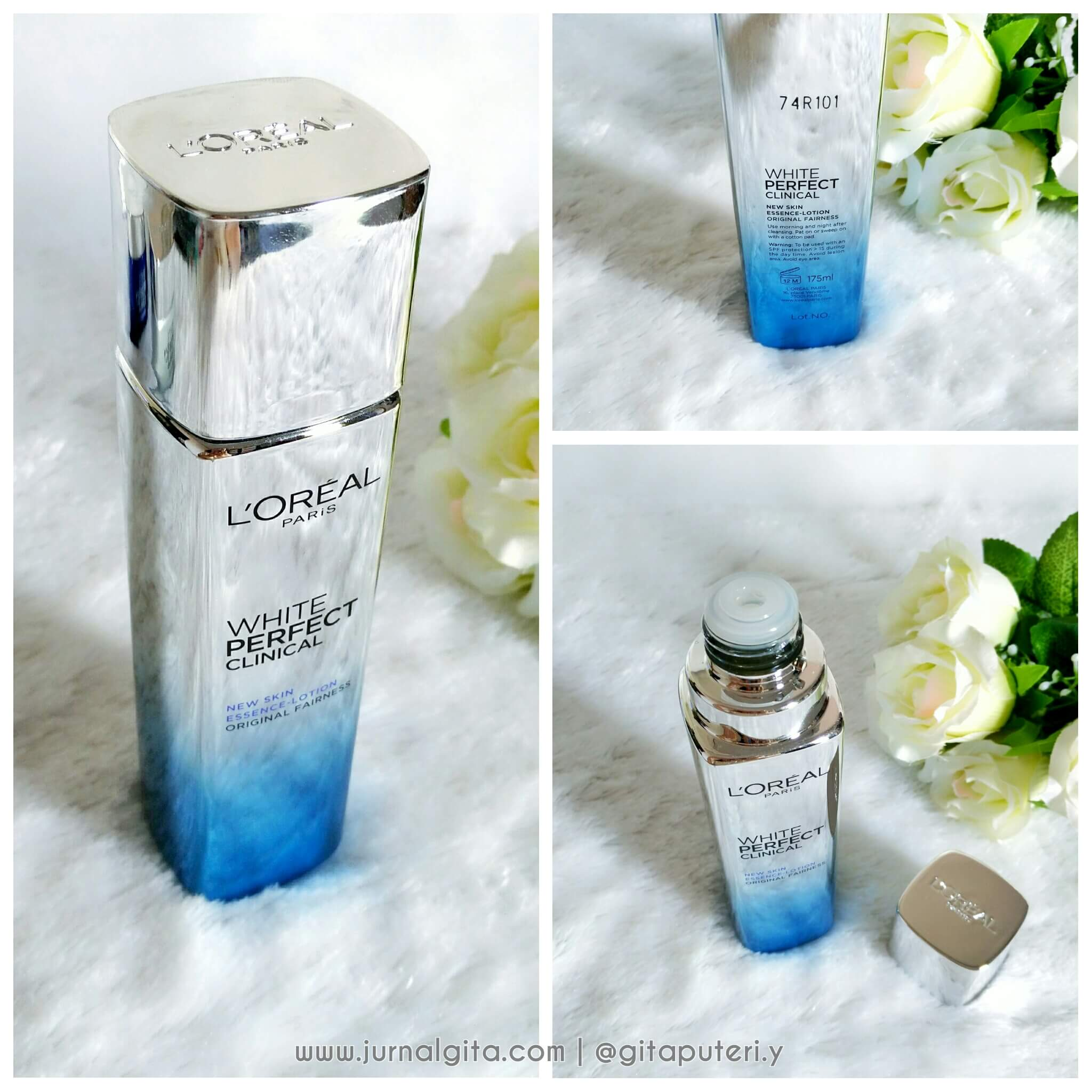 gambar review ke-11 untuk L'oreal Paris White Perfect Clinical Essence Lotion