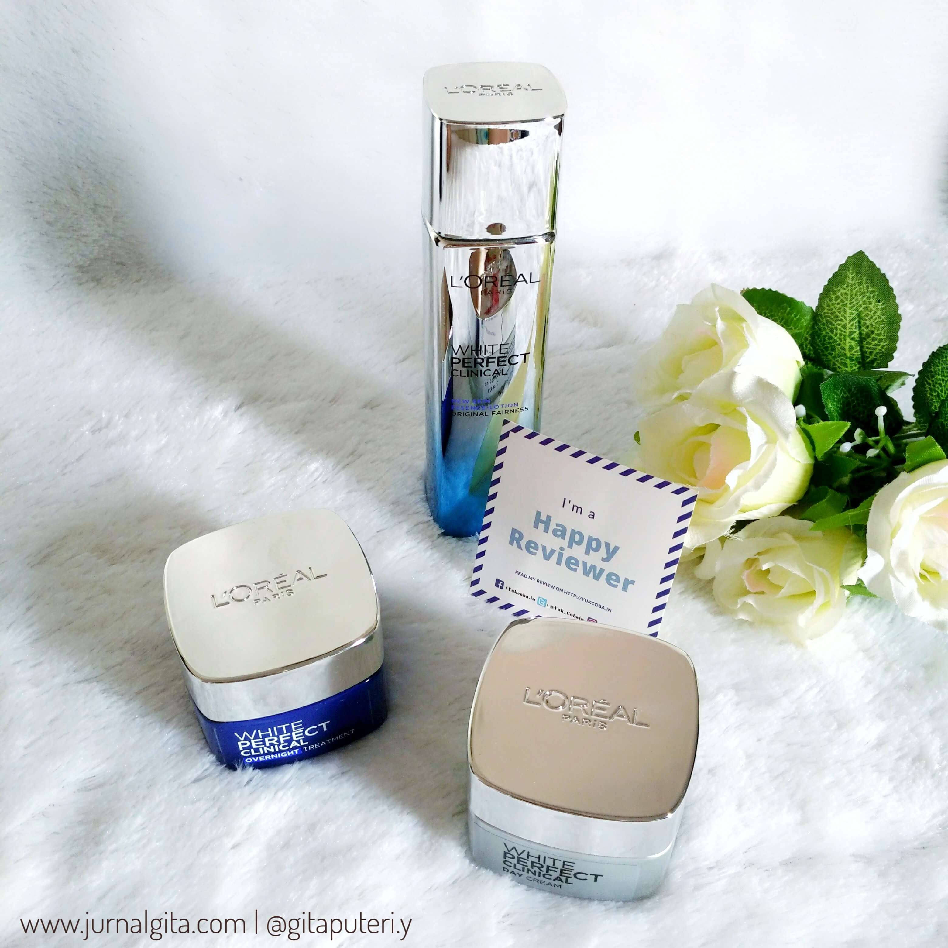 gambar review ke-14 untuk L'oreal Paris White Perfect Clinical Essence Lotion