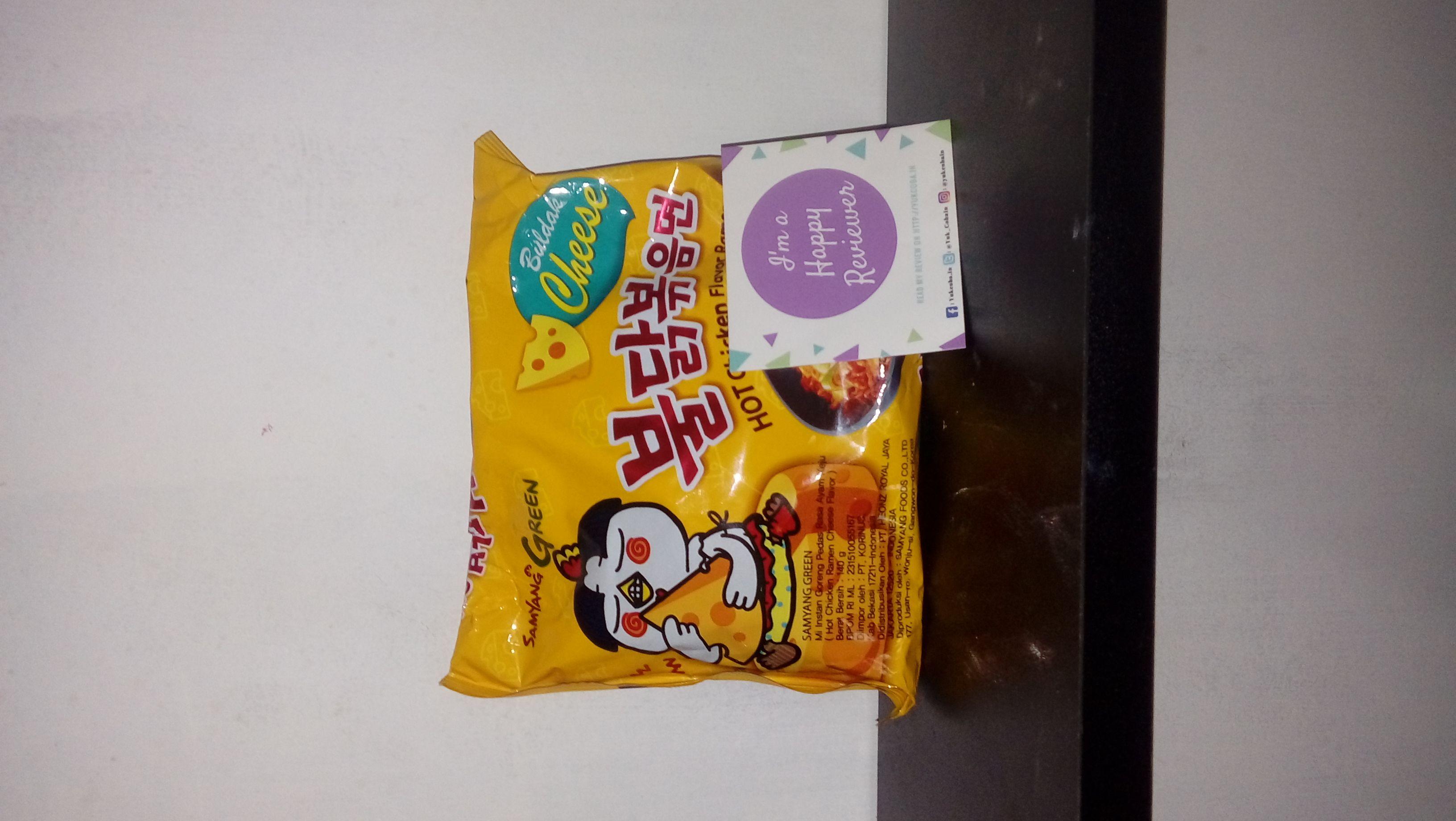 gambar review ke-1 untuk Samyang Green Hot Chicken Flavor Ramen
