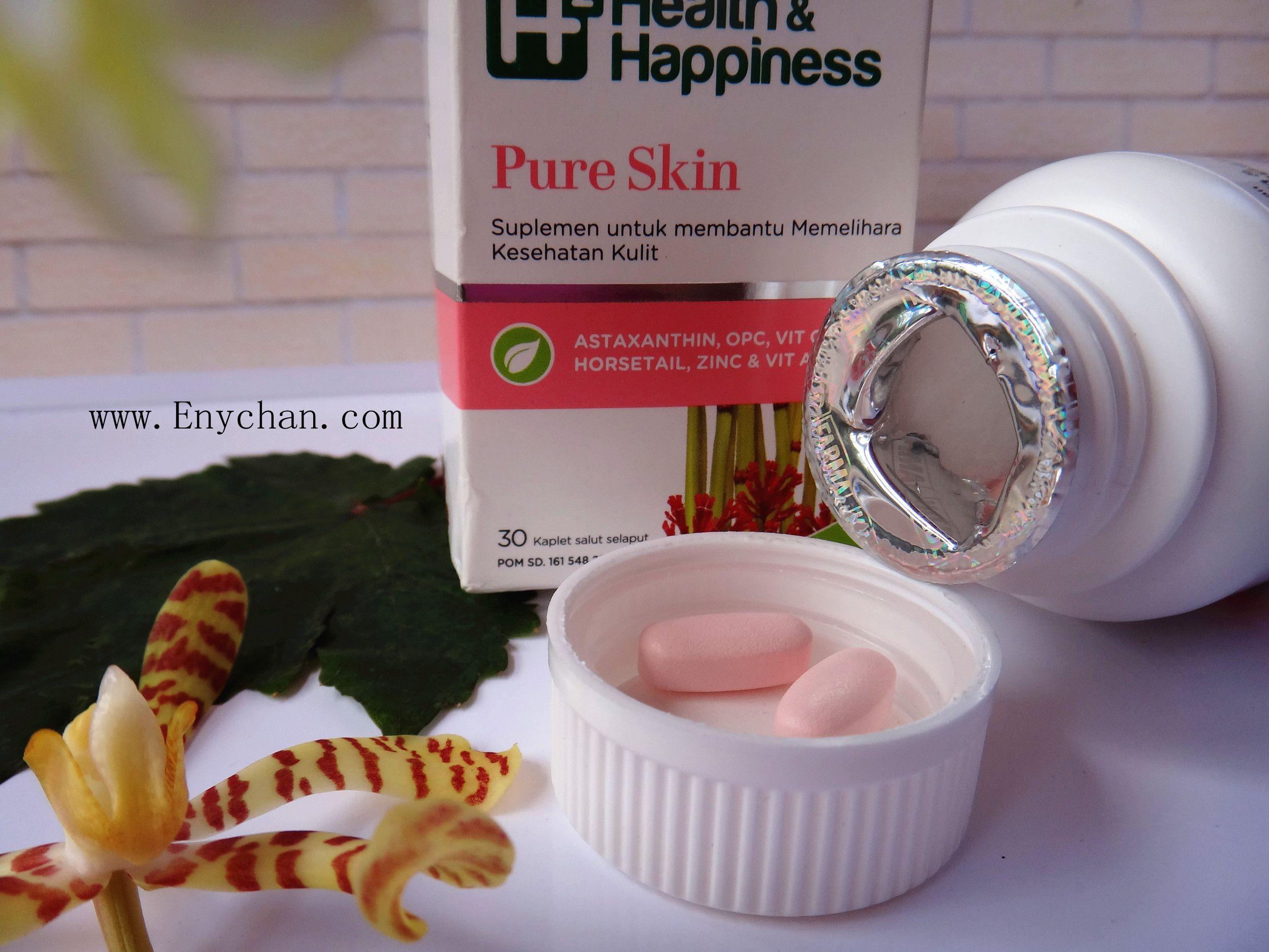 gambar review ke-6 untuk H2 Health & Happiness Pure Skin