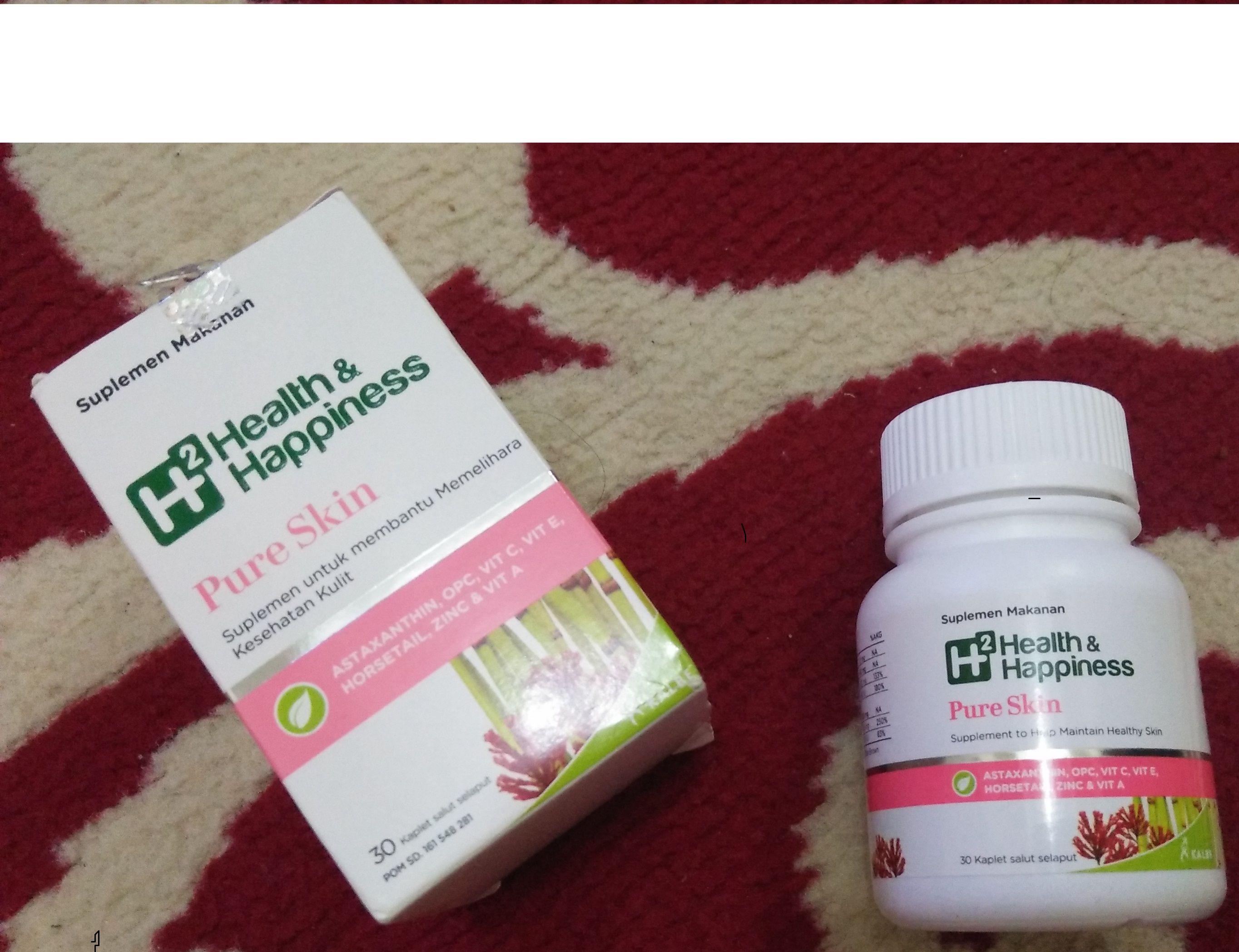 gambar review ke-3 untuk H2 Health & Happiness Pure Skin