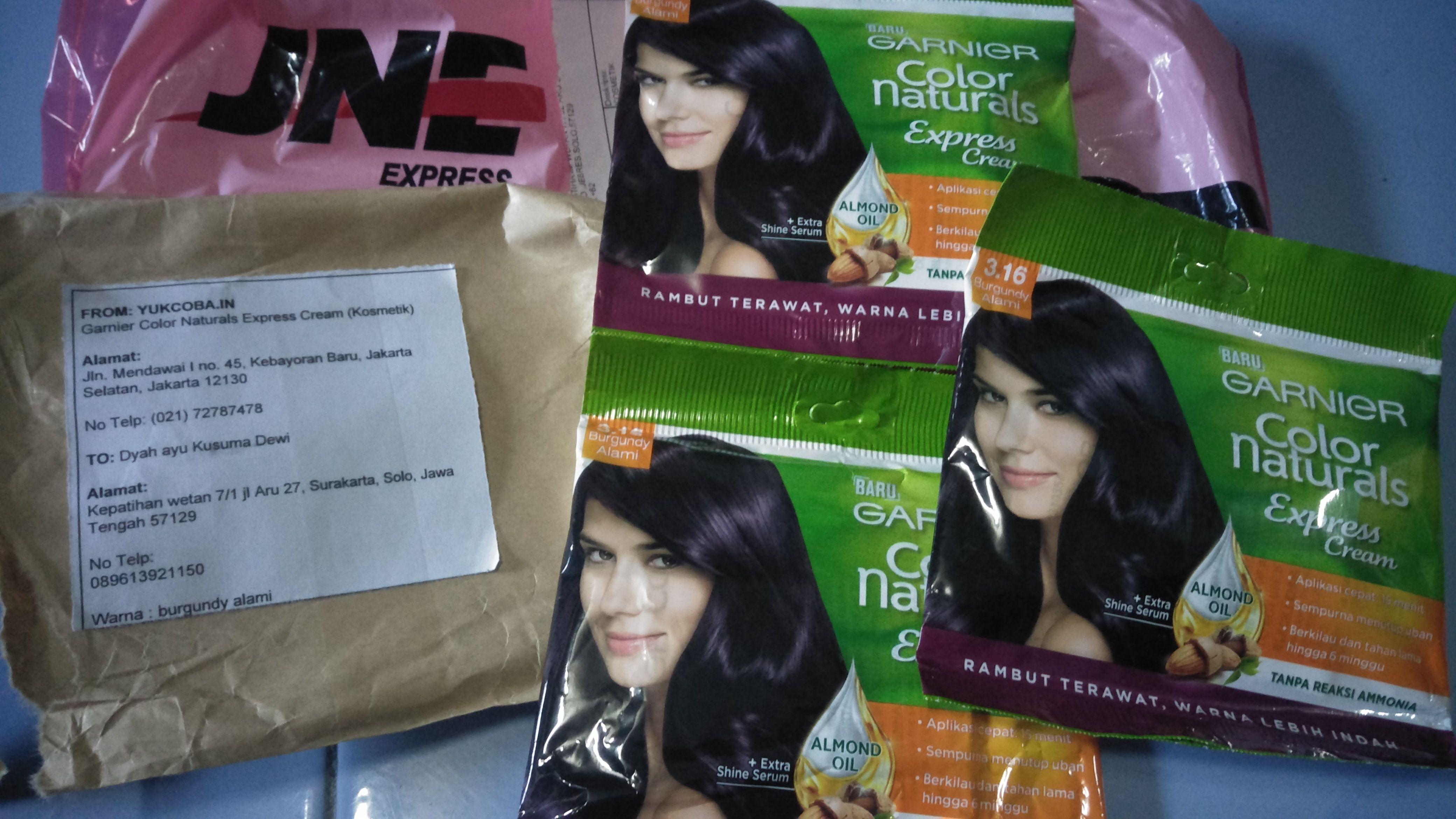 gambar review ke-4 untuk Garnier Color Naturals Express Cream