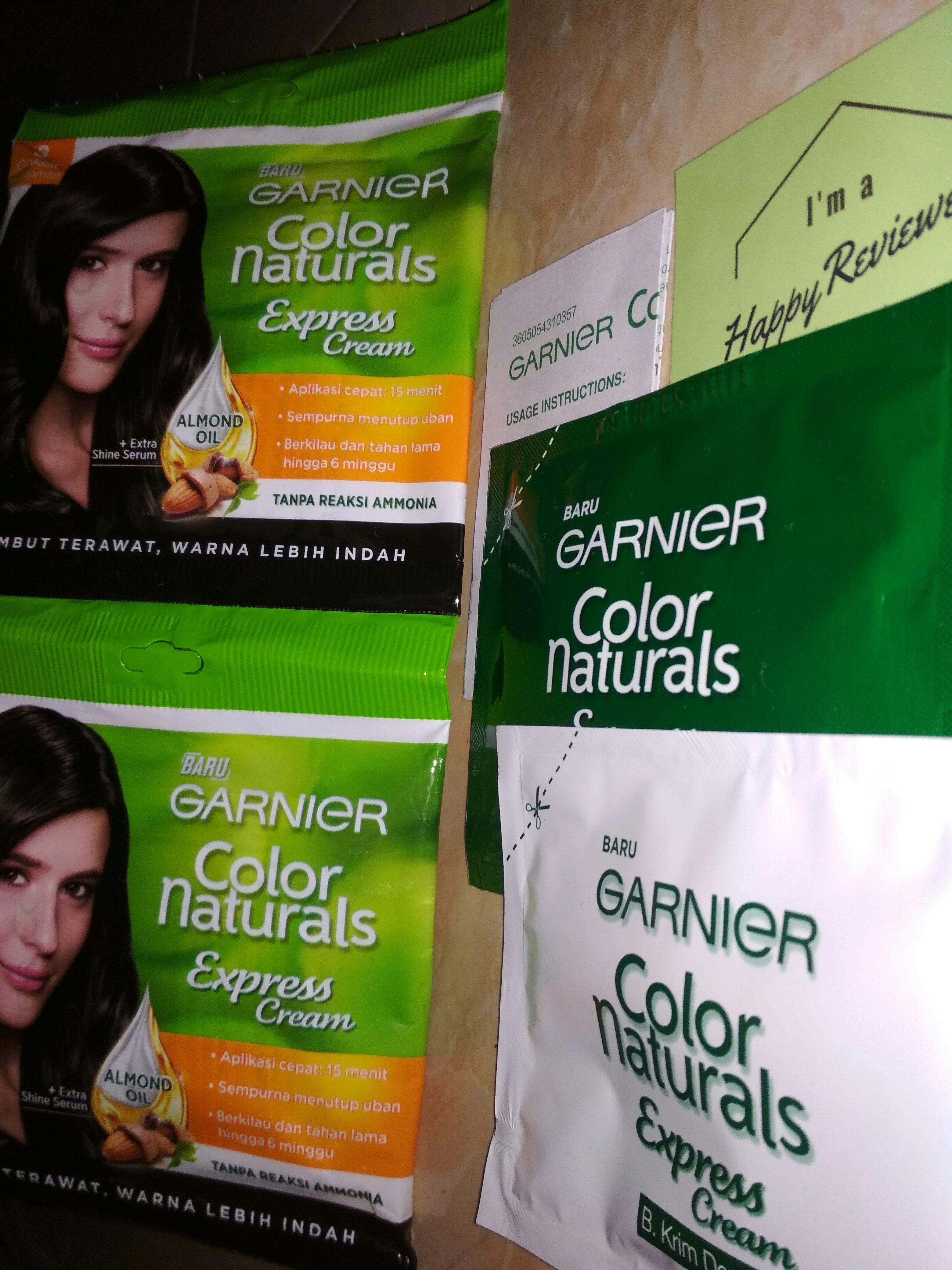 gambar review ke-1 untuk Garnier Color Naturals Express Cream