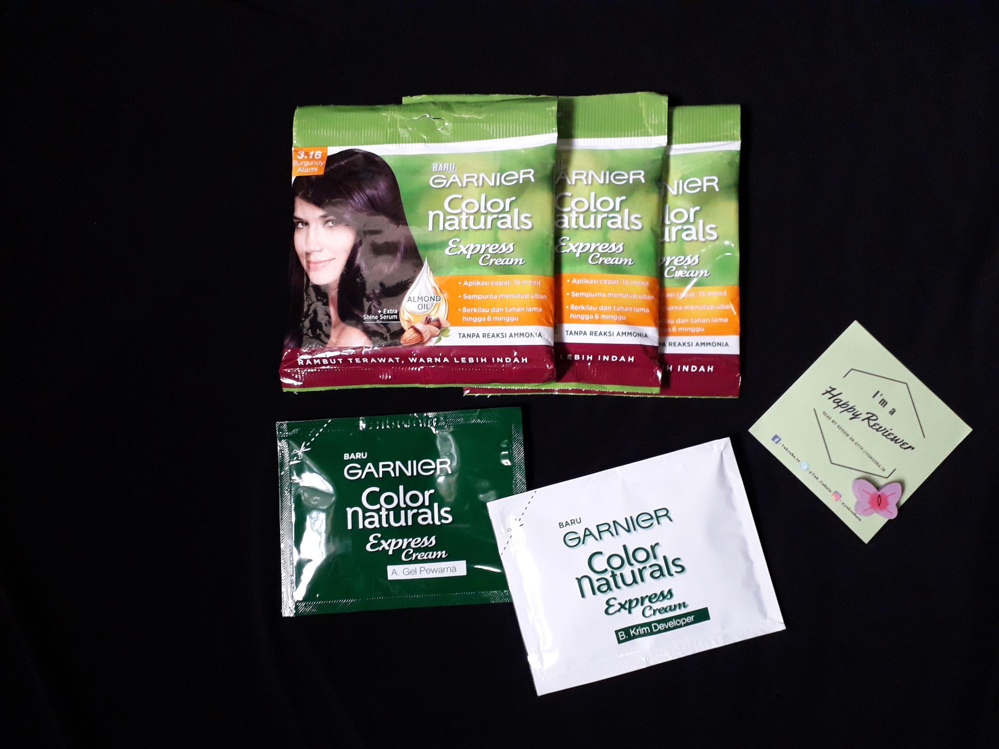 gambar review ke-2 untuk Garnier Color Naturals Express Cream
