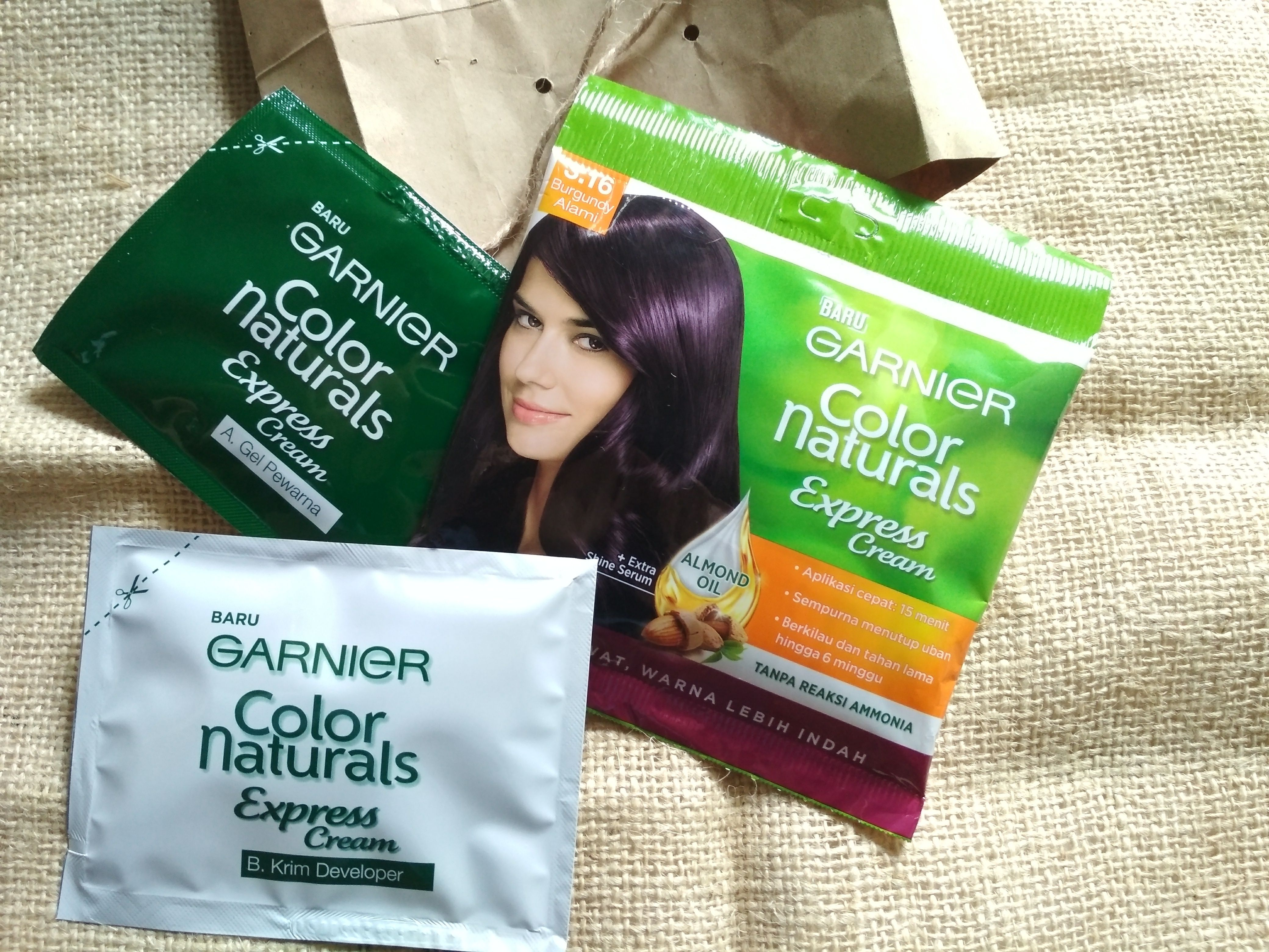 gambar review ke-1 untuk Garnier Color Naturals Express Cream
