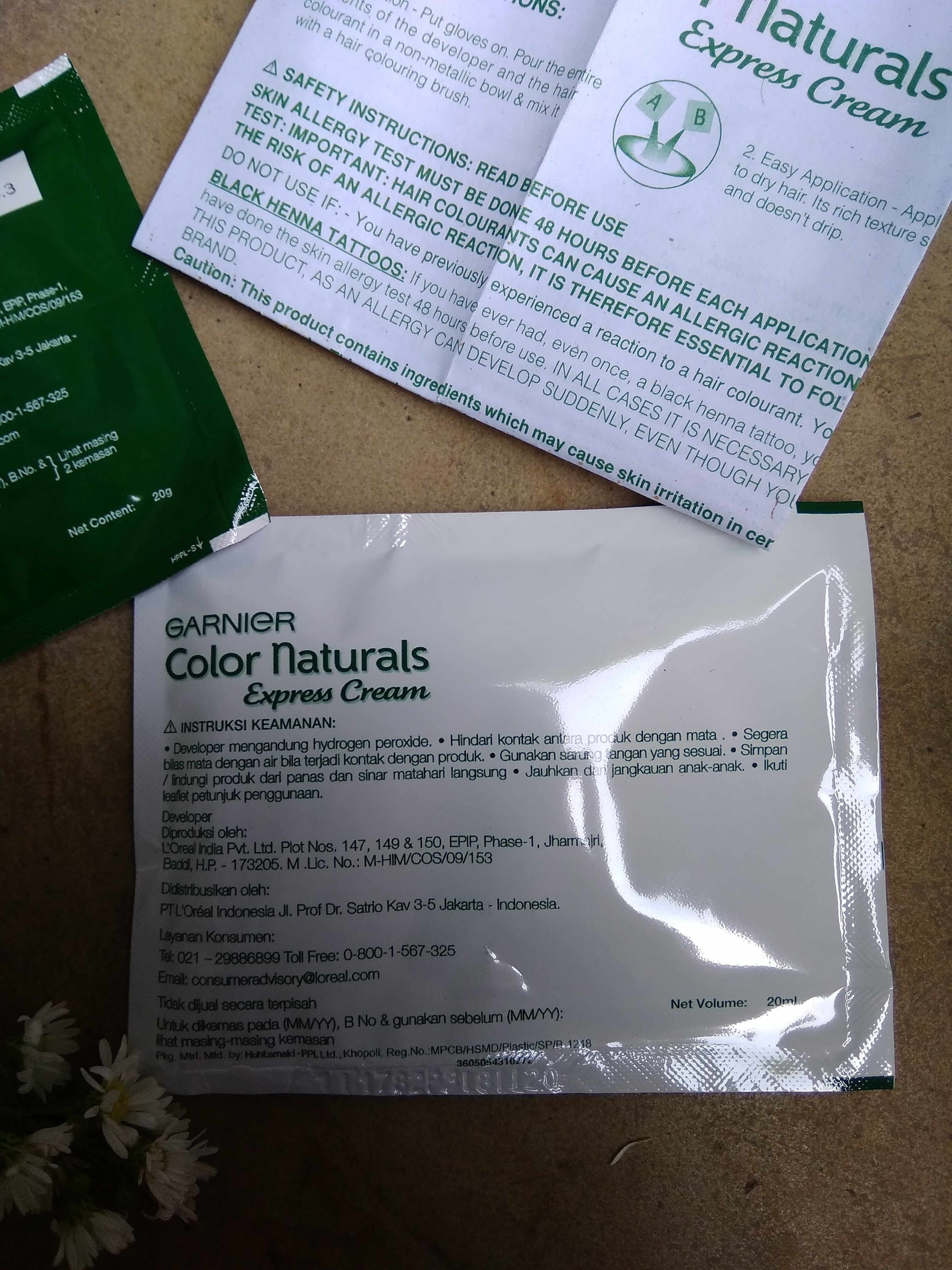 gambar review ke-4 untuk Garnier Color Naturals Express Cream