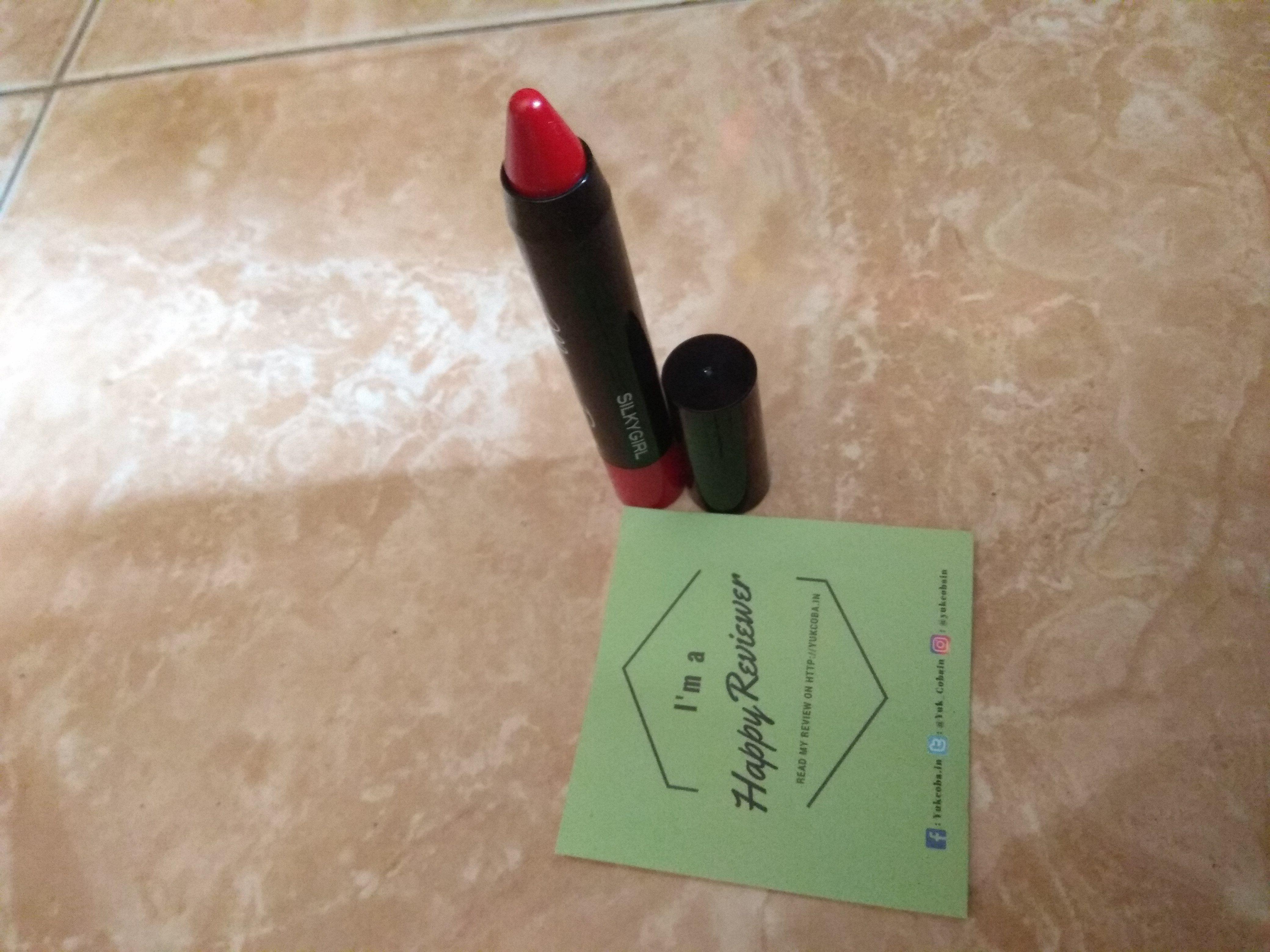 gambar review ke-2 untuk SILKY GIRL Moisture Boost Lipcolor Balm