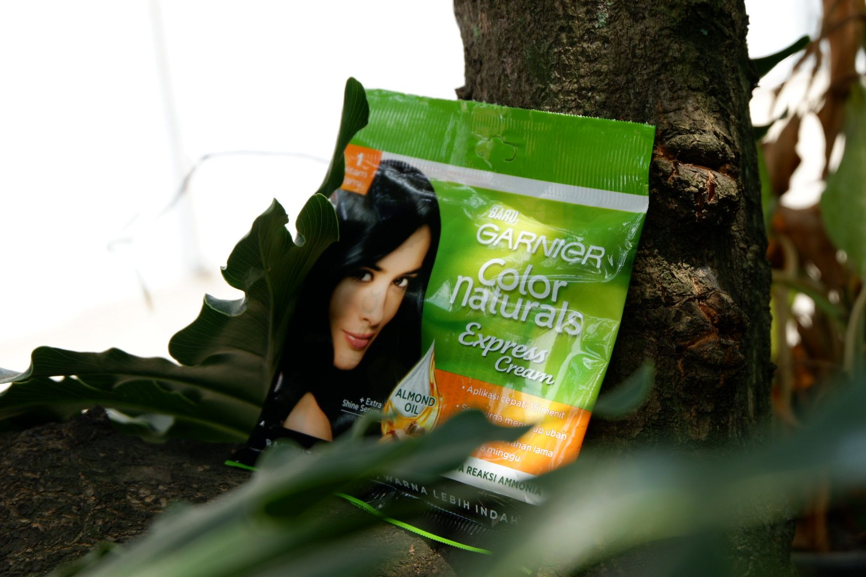 gambar review ke-2 untuk Garnier Color Naturals Express Cream
