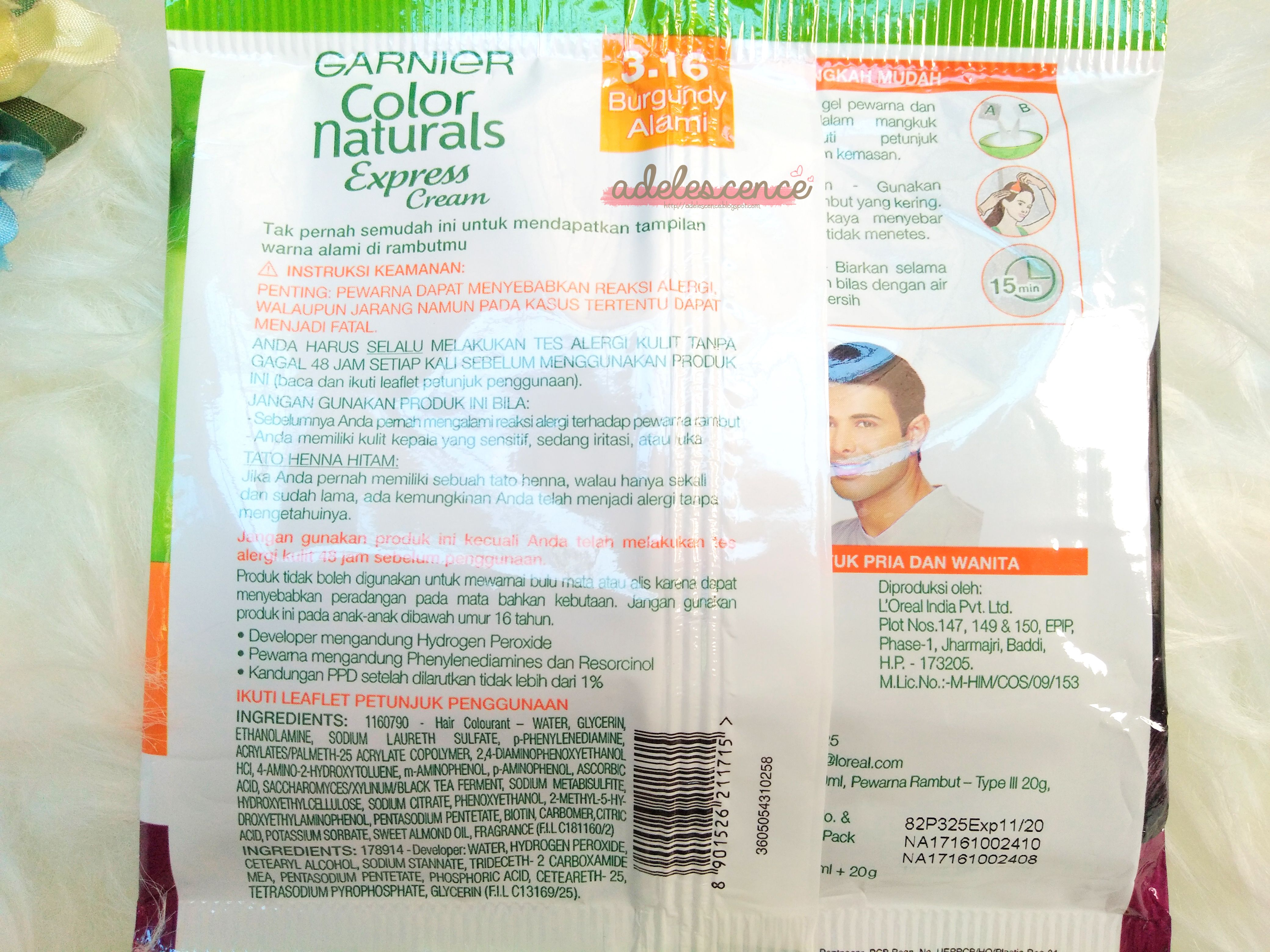 gambar review ke-3 untuk Garnier Color Naturals Express Cream