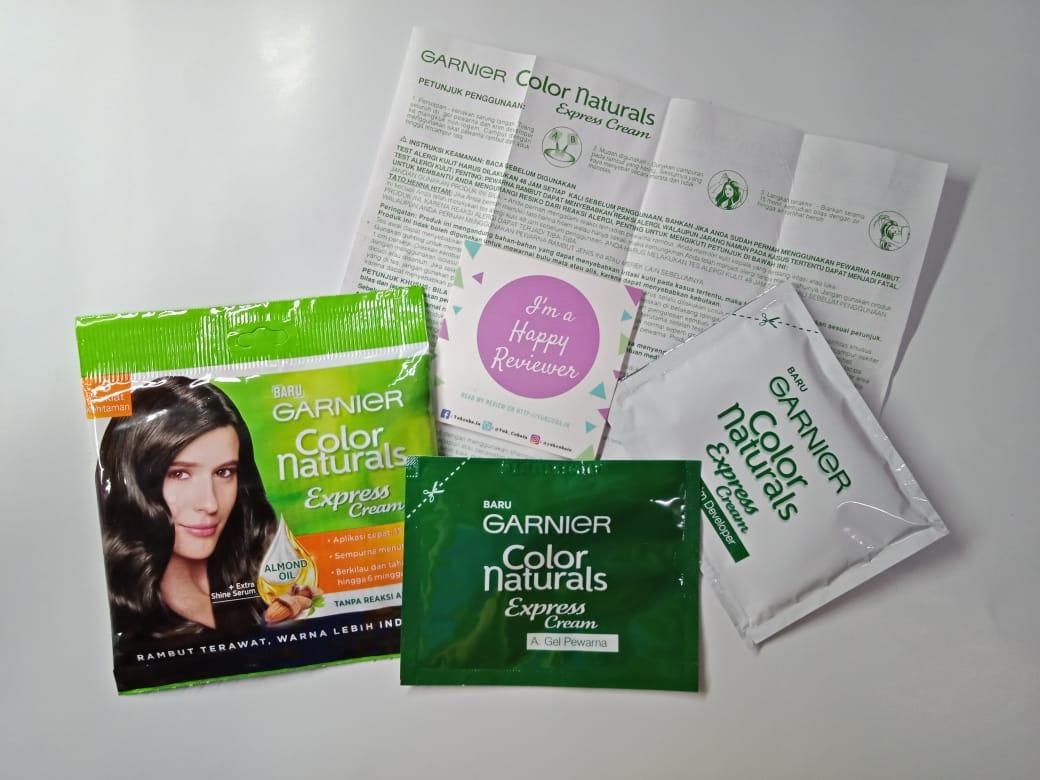 gambar review ke-3 untuk Garnier Color Naturals Express Cream
