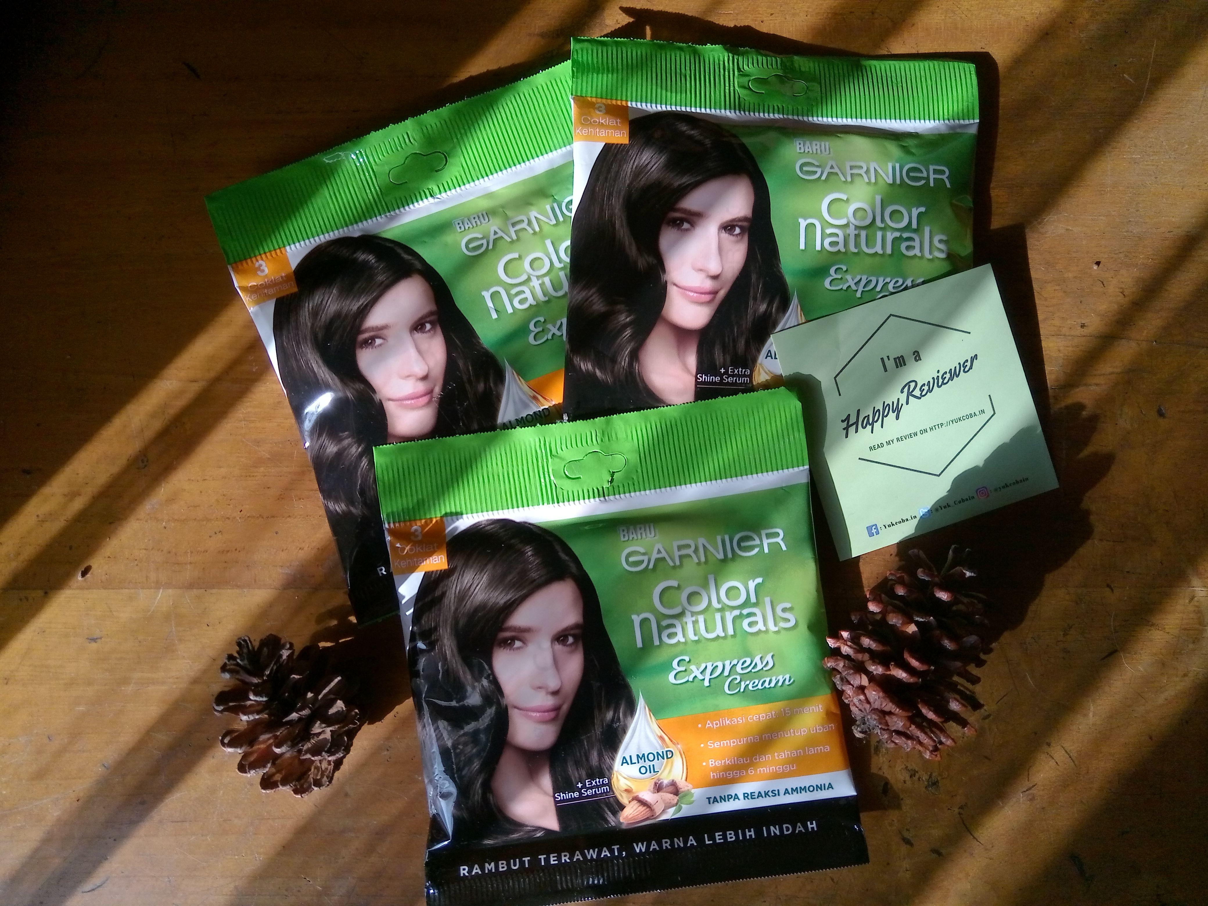 gambar review ke-8 untuk Garnier Color Naturals Express Cream