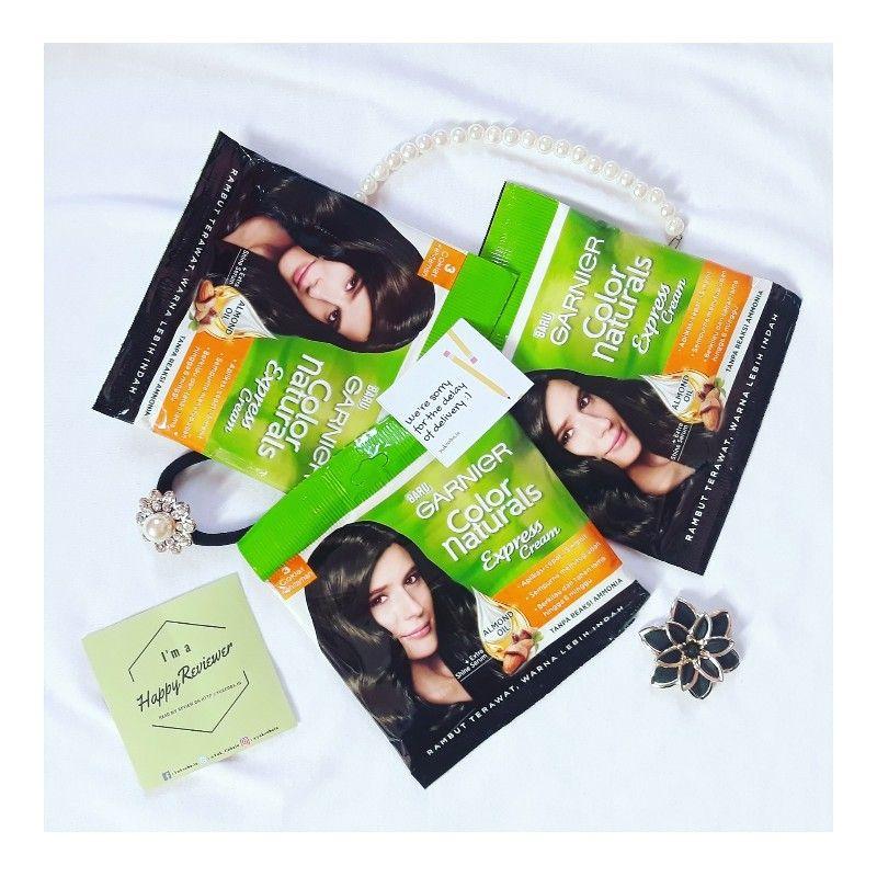 gambar review ke-5 untuk Garnier Color Naturals Express Cream