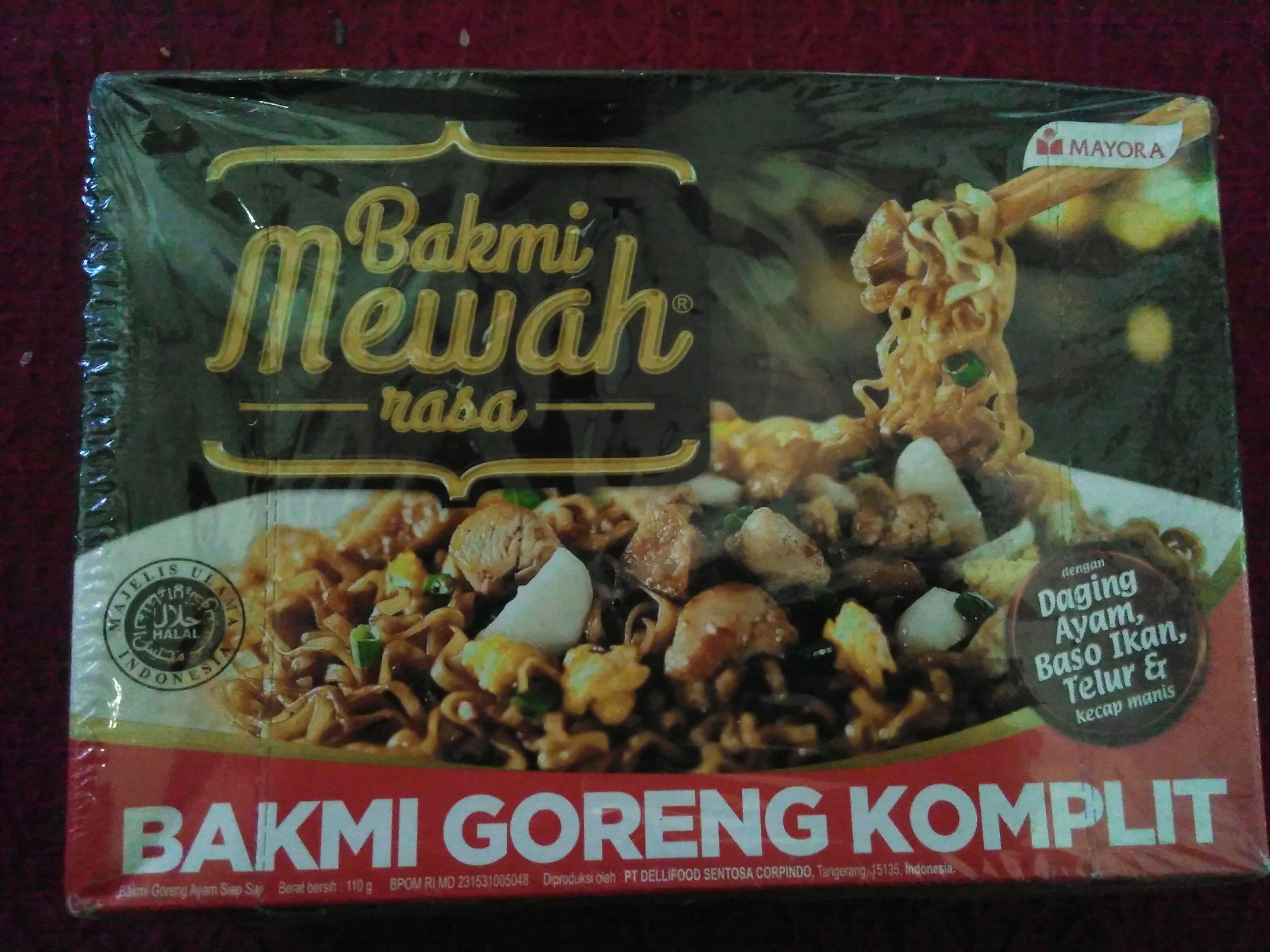 image review Bakmi Mewah : Bakmi Goreng Komplit
