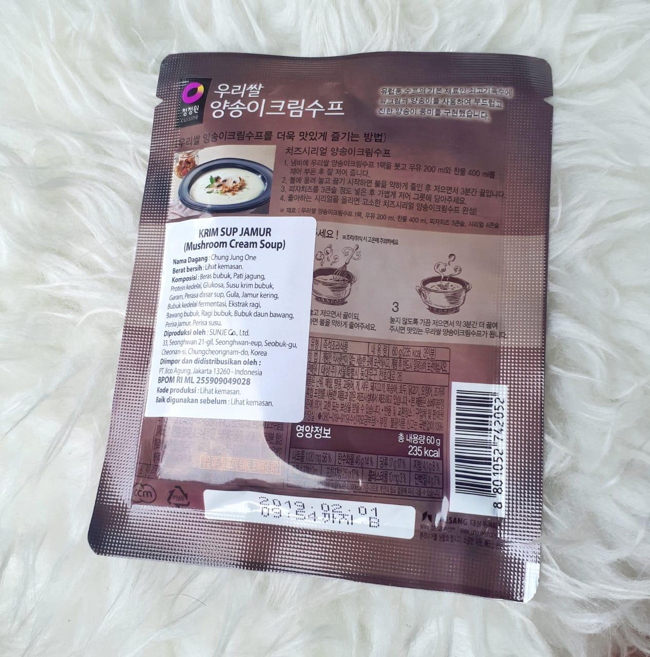 gambar review ke-2 untuk Daesang Korean Mushroom Soup