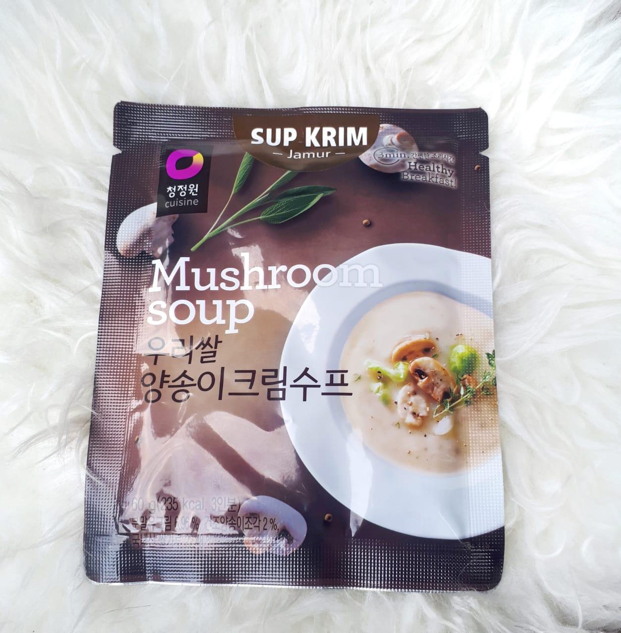 image review Daesang Korean Mushroom Soup
