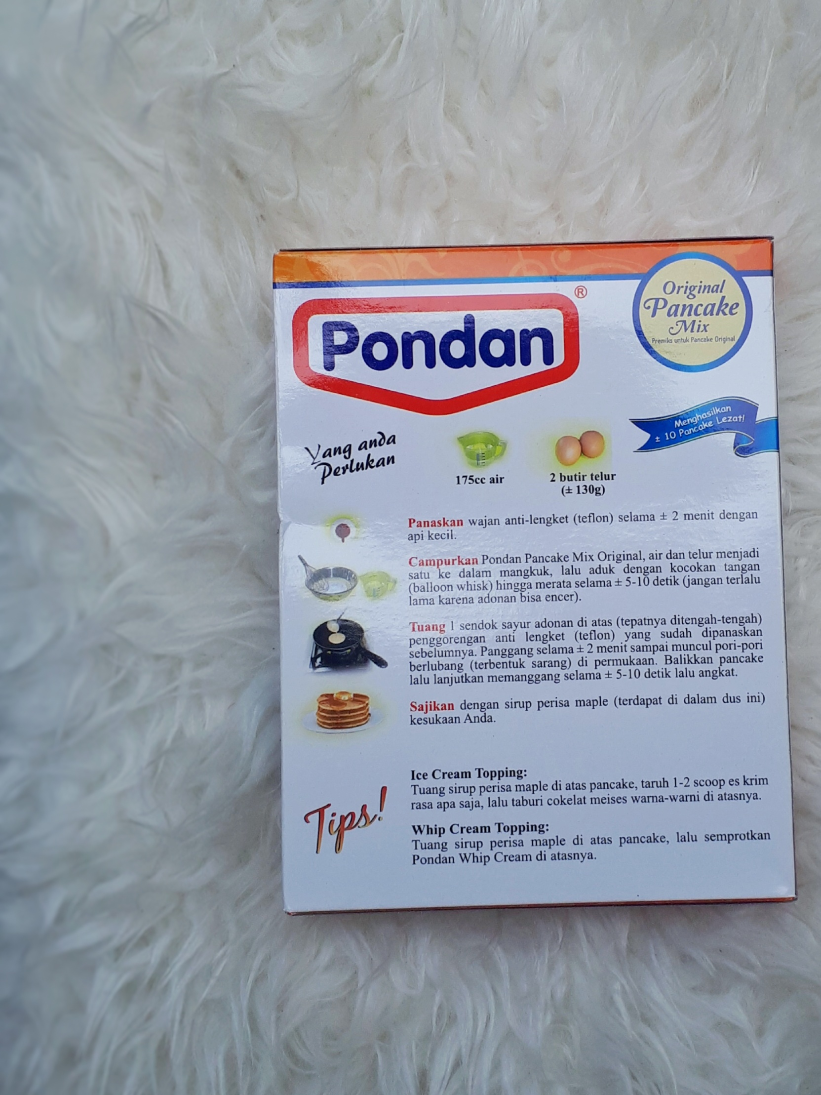 image review Pondan Pancake Mix - Original