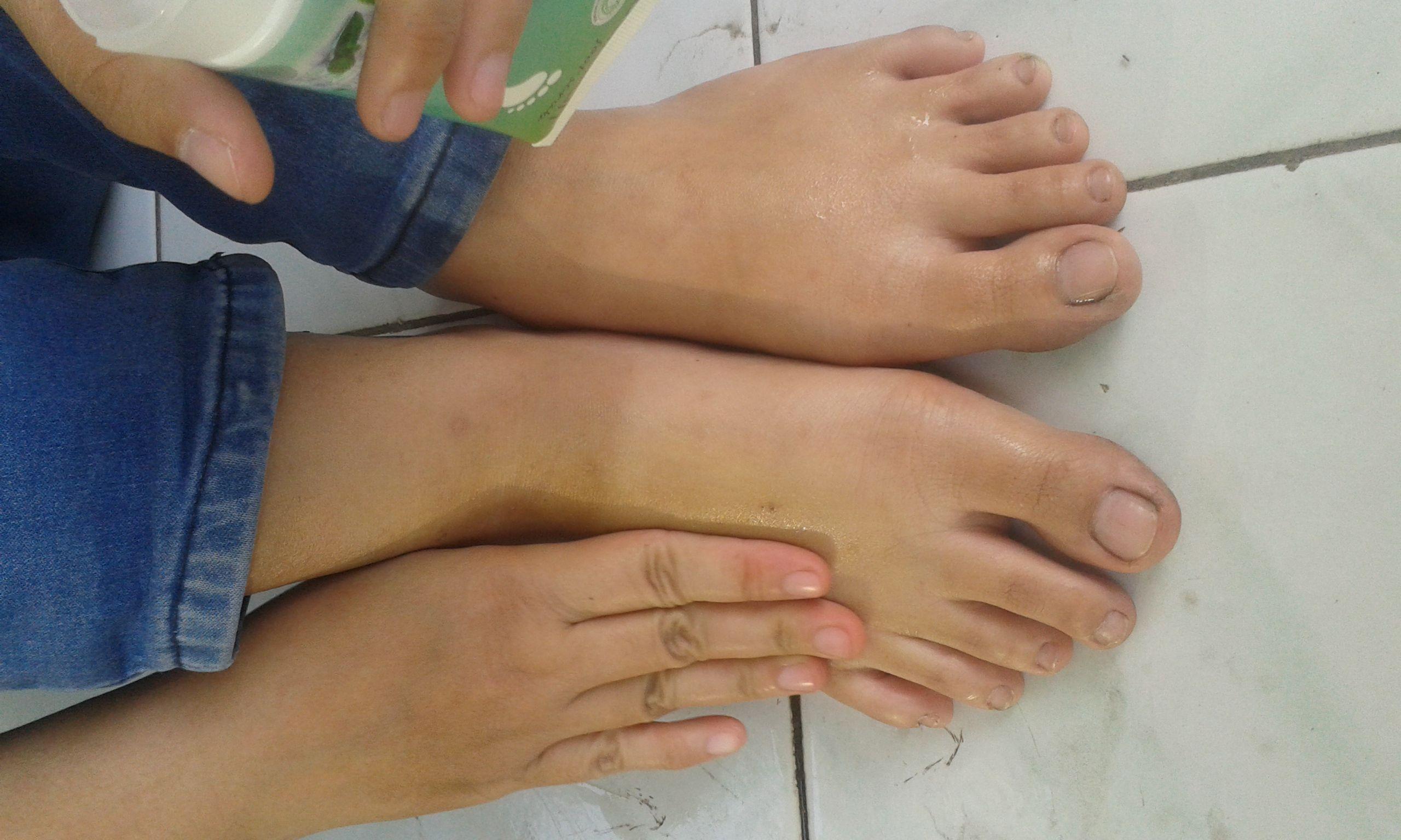 review user Guardian Foot Scrub