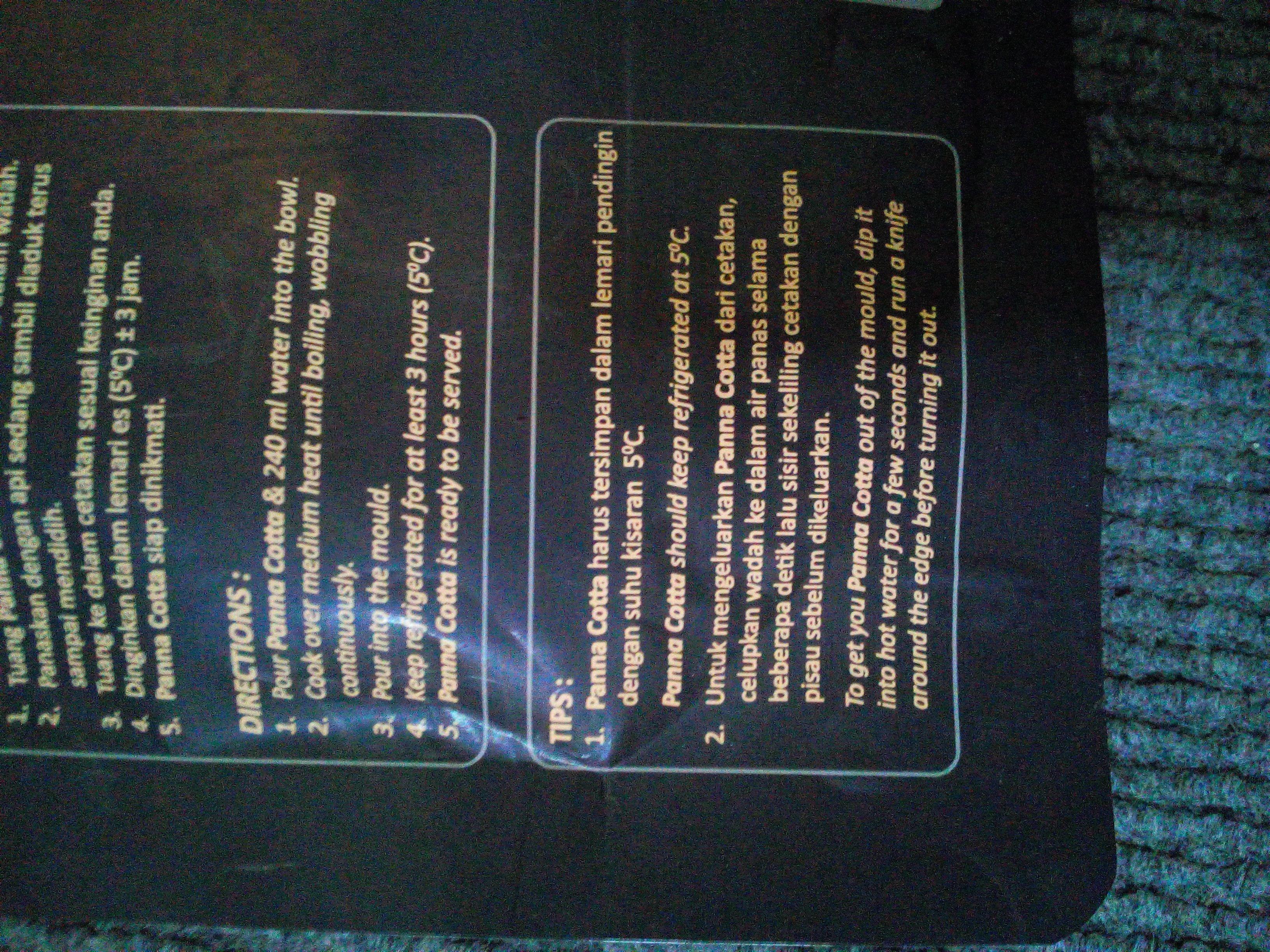 gambar review ke-3 untuk Omura Panna Cotta - Rasa Coklat