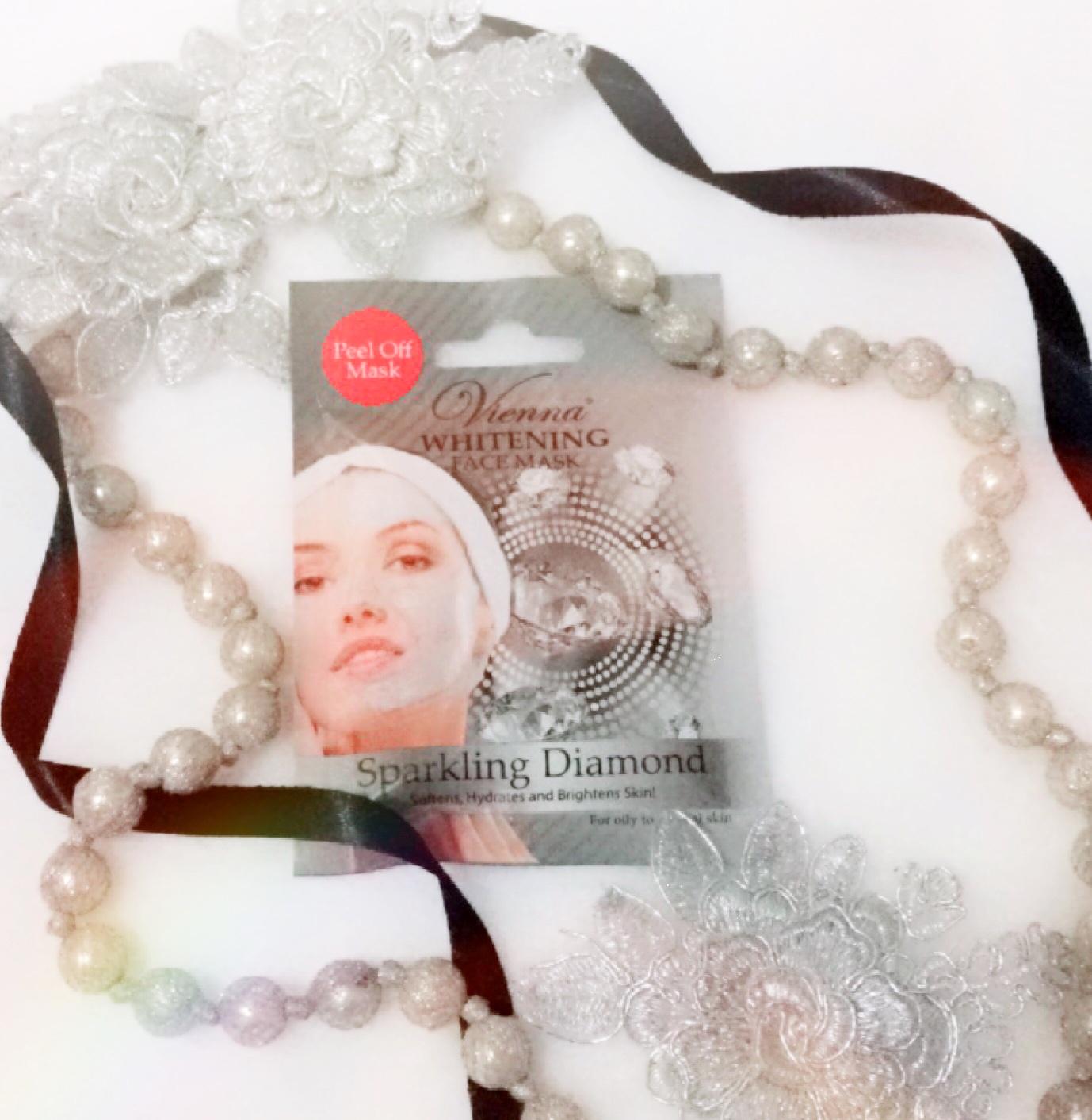 gambar review ke-2 untuk Vienna Whitening Face Mask Sparkling Diamond