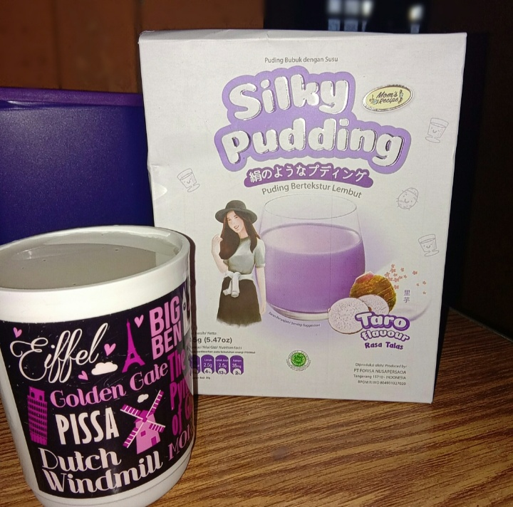 image review Silky Pudding - Taro